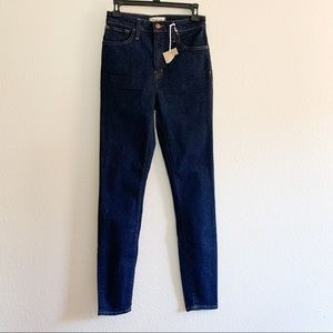 Madewell 27T Curvy High-Rise Skinny Jeans New
